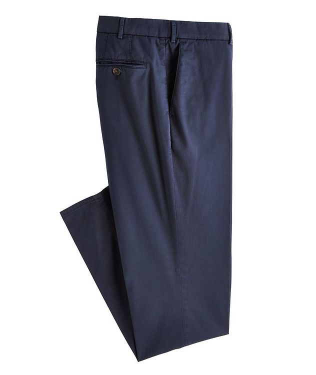 Slim-Fit Stretch-Cotton Chinos picture 1