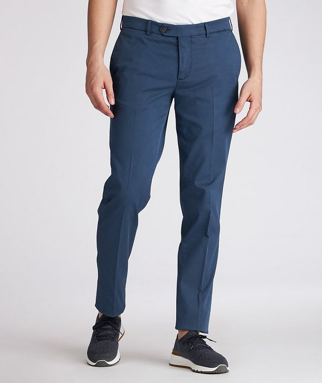 Slim-Fit Stretch-Cotton Chinos picture 2