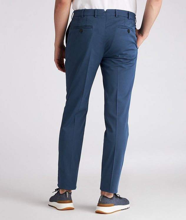 Slim-Fit Stretch-Cotton Chinos picture 3