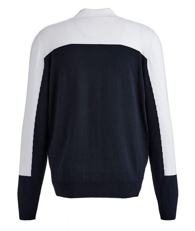 Zip-Up Cotton Sweatshirt picture 2