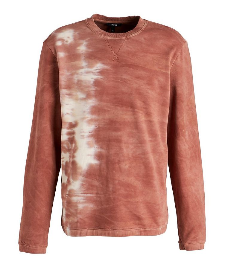 Tie-Dye Cotton Sweater image 0