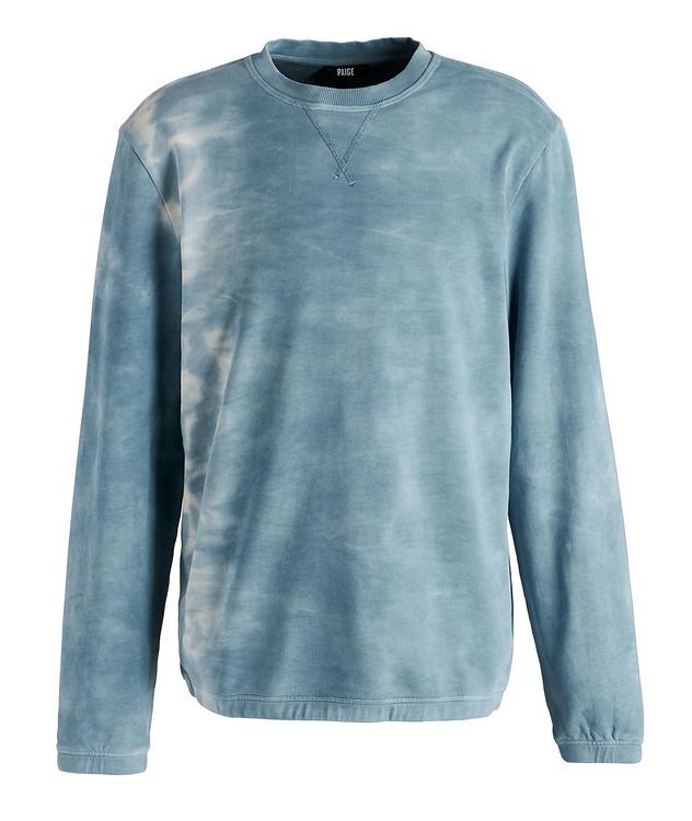 Tie-Dye Cotton Sweater picture 1