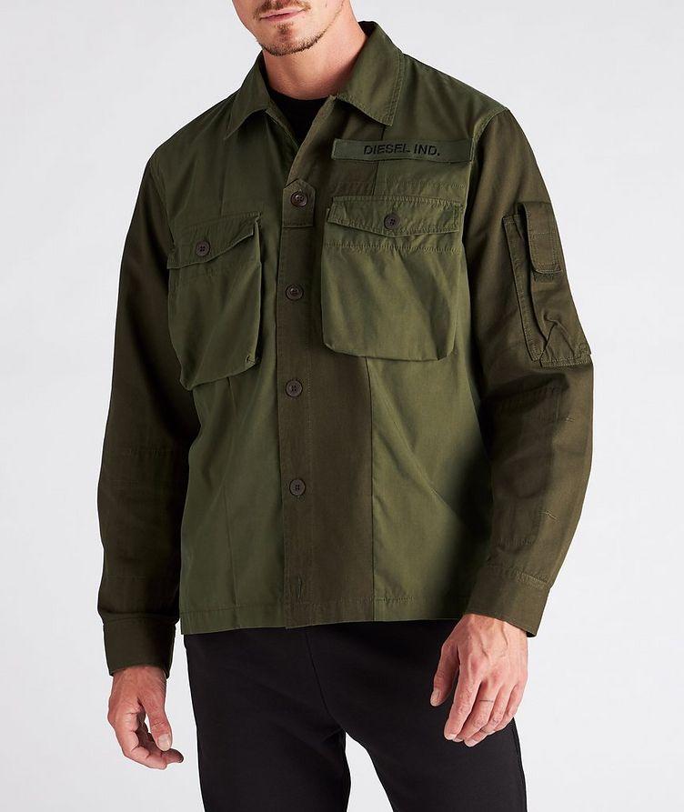 S-Adair Cotton-Blend Overshirt image 1
