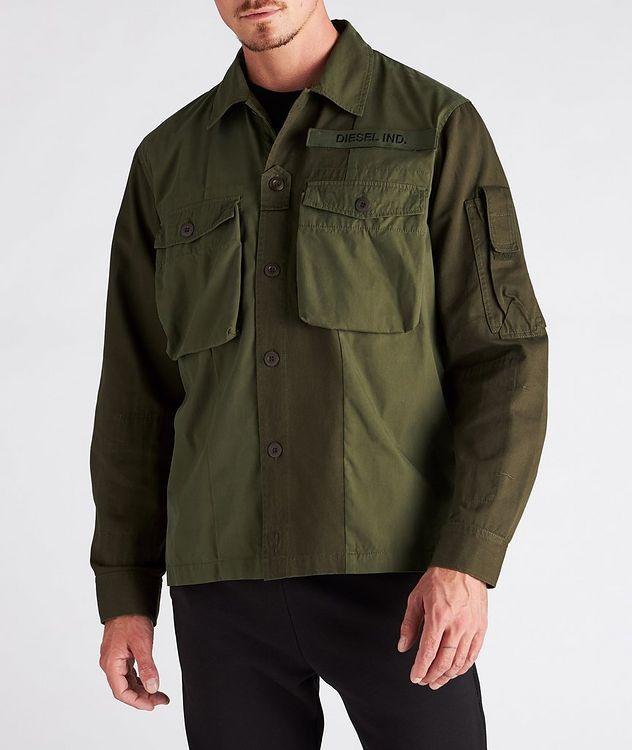 S-Adair Cotton-Blend Overshirt picture 2