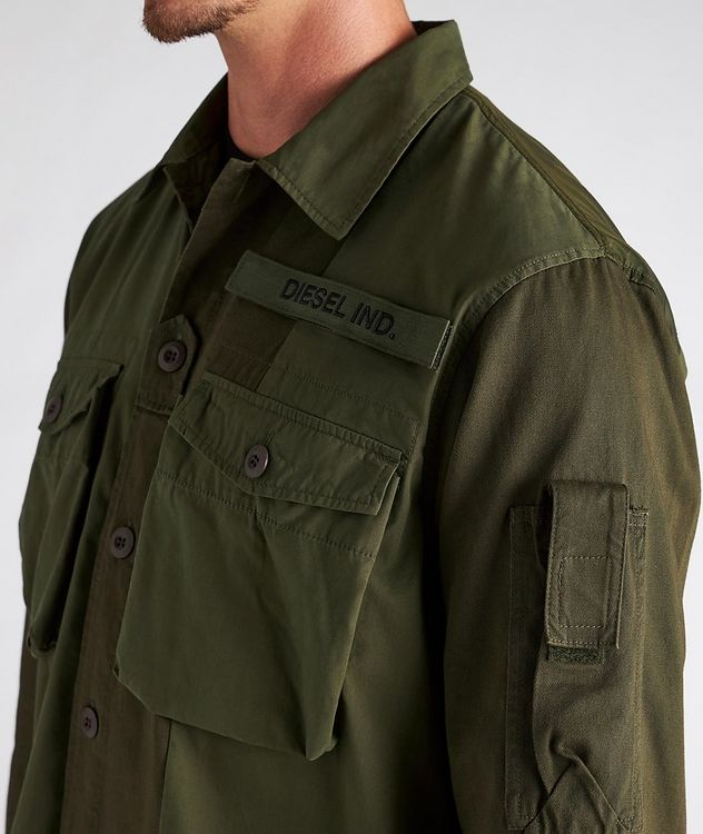 S-Adair Cotton-Blend Overshirt picture 3