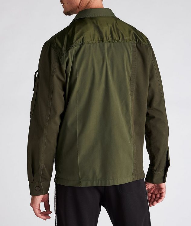 S-Adair Cotton-Blend Overshirt picture 4