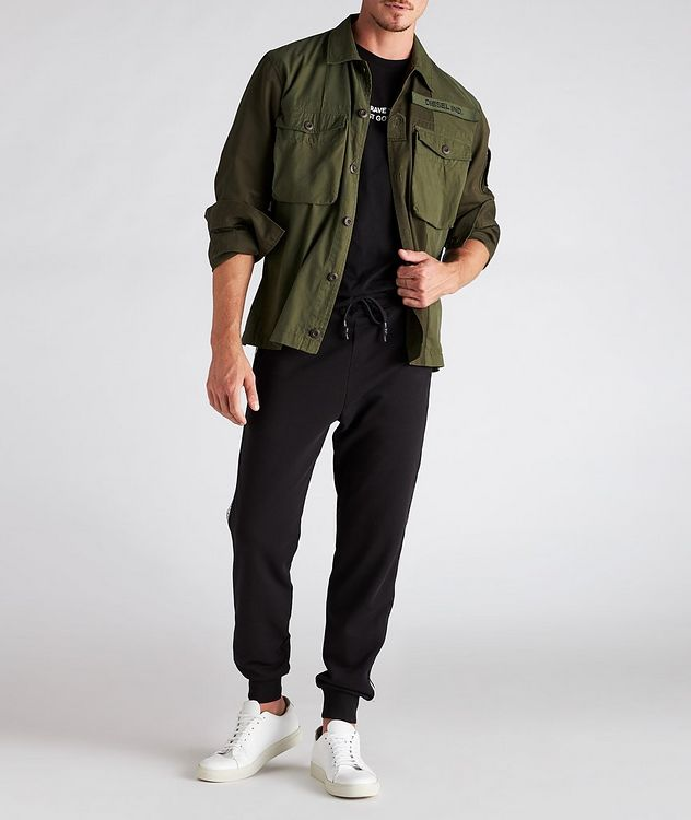 S-Adair Cotton-Blend Overshirt picture 5