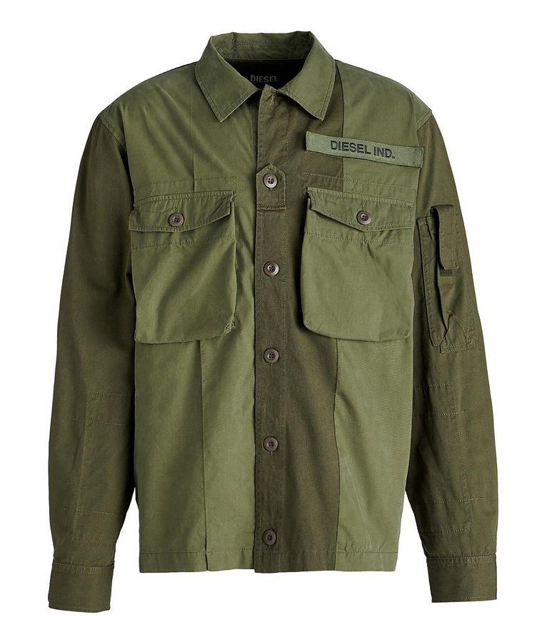 S-Adair Cotton-Blend Overshirt image 0