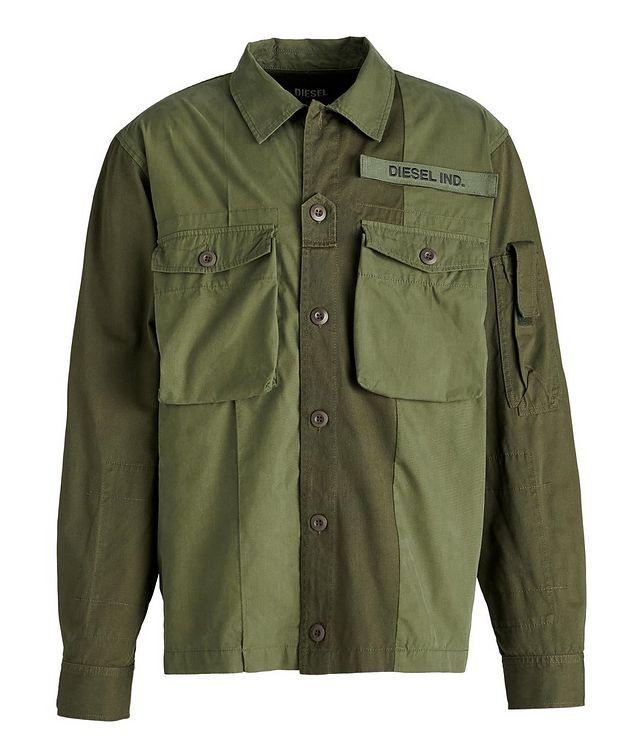 S-Adair Cotton-Blend Overshirt picture 1