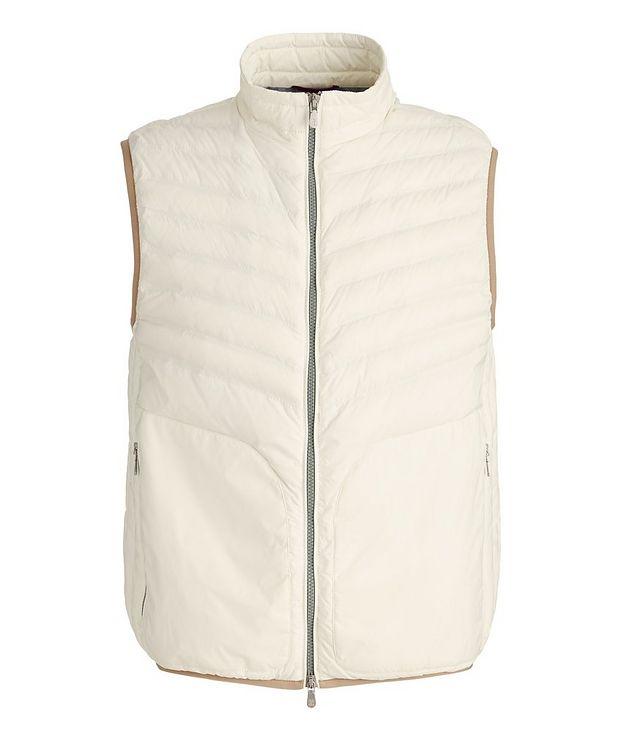Water-Repellent Down Vest picture 1