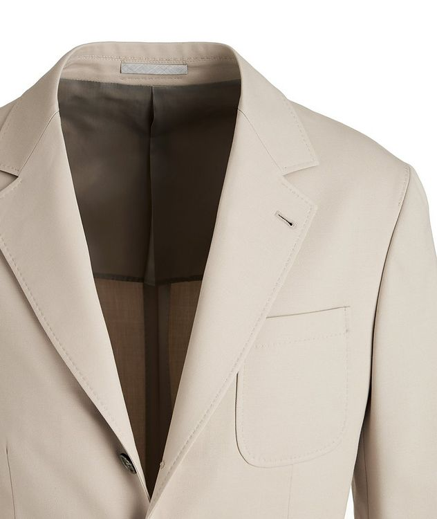 Stretch-Wool-Cotton Sports Jacket picture 3