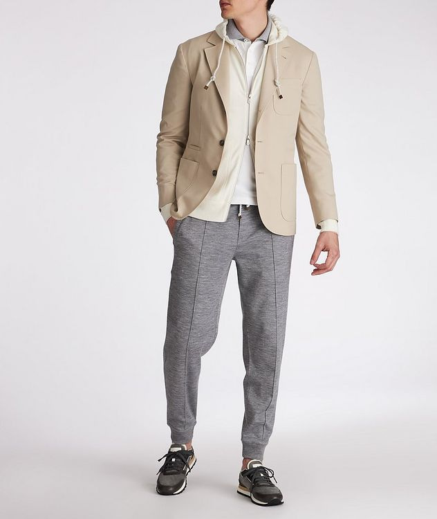 Stretch-Wool-Cotton Sports Jacket picture 4