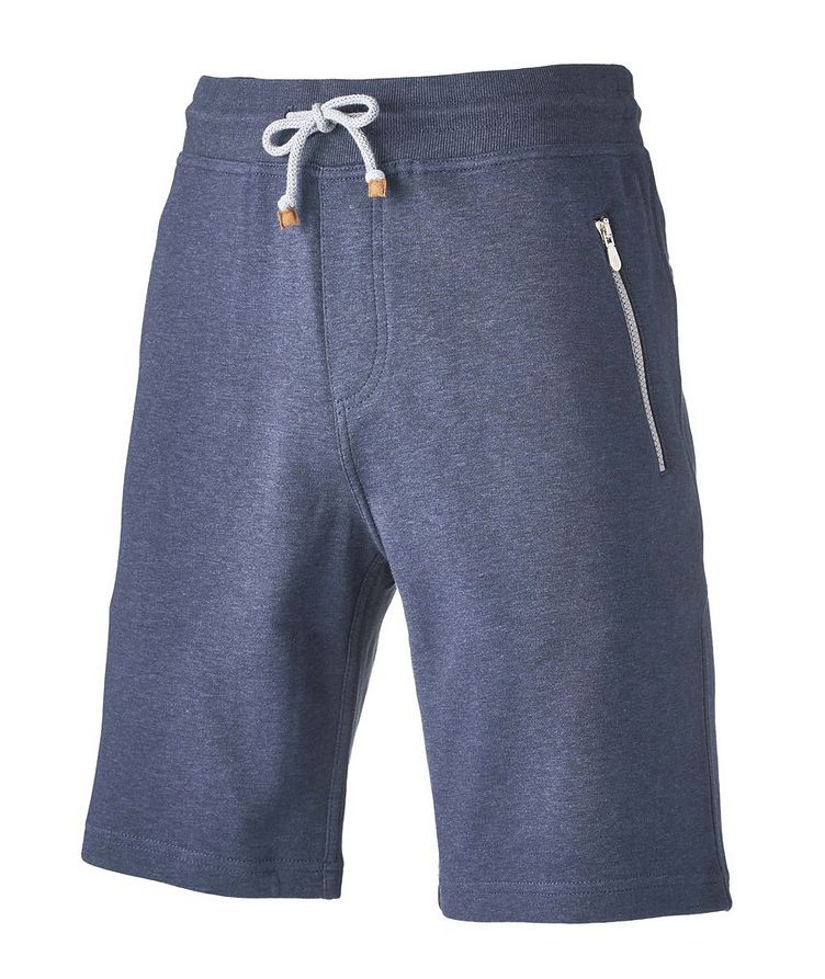 Cotton-Blend Drawstring Shorts image 2