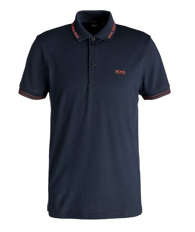 Paule Performance Stretchy Cotton Polo picture 1