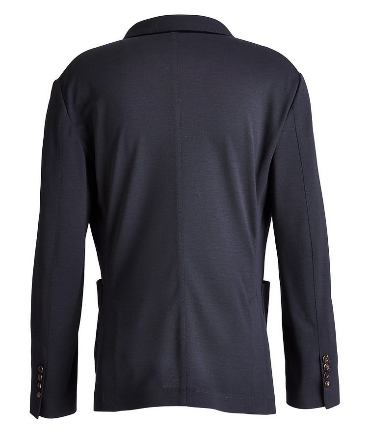 Unstructured Piqué Wool Sports Jacket image 1