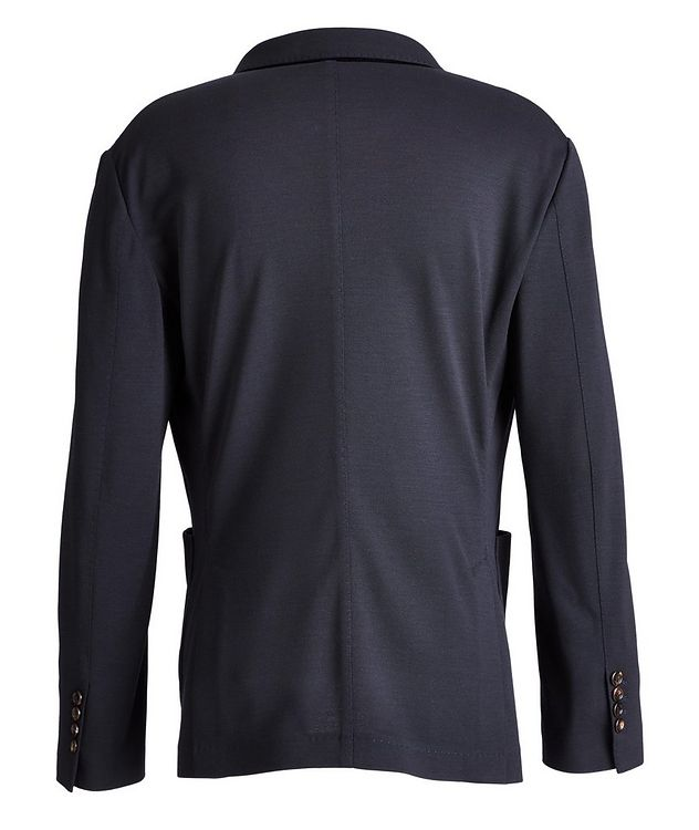 Unstructured Piqué Wool Sports Jacket picture 2