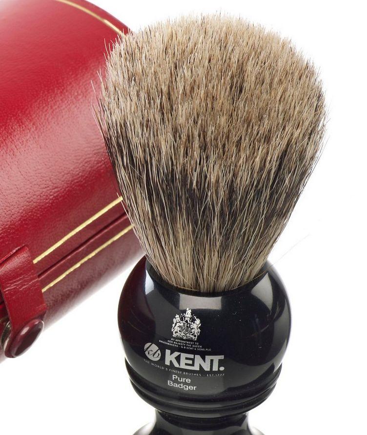 Shaving Brush, Pure Grey Badger image 1