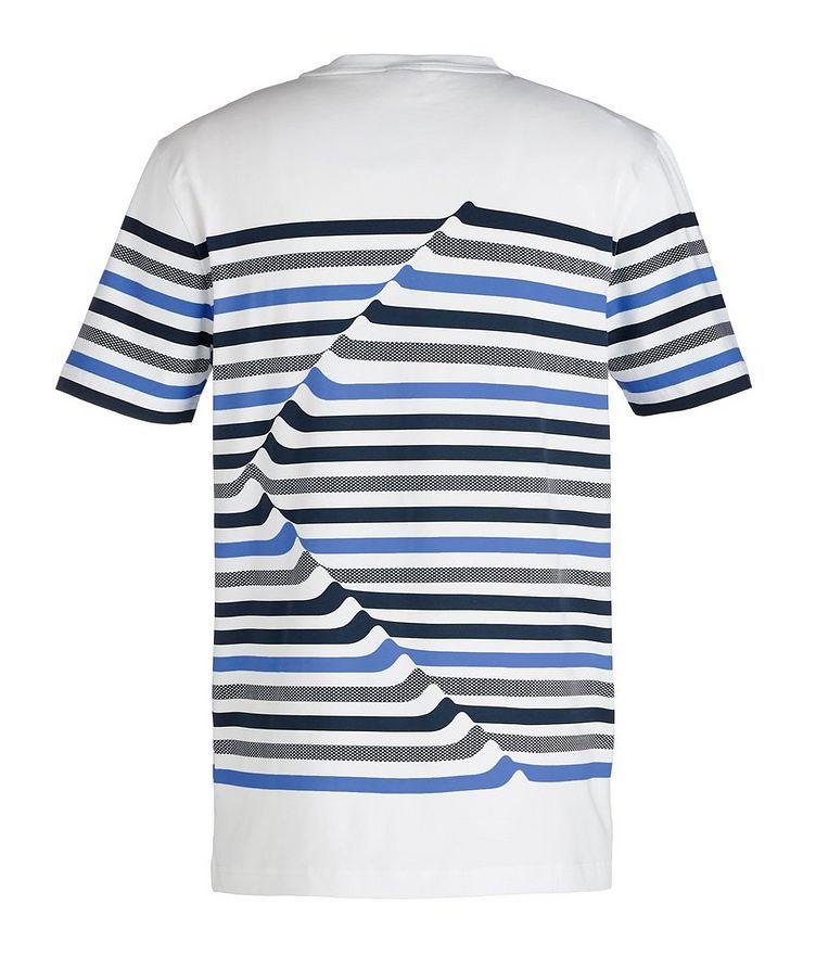 Striped Cotton Blend T-Shirt image 1