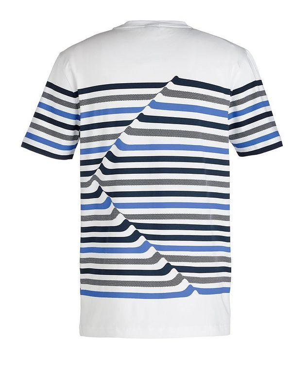 Striped Cotton Blend T-Shirt picture 2