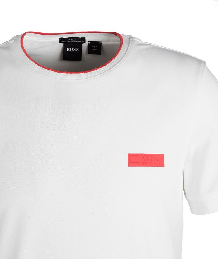 T-shirt en mélange de coton image 1