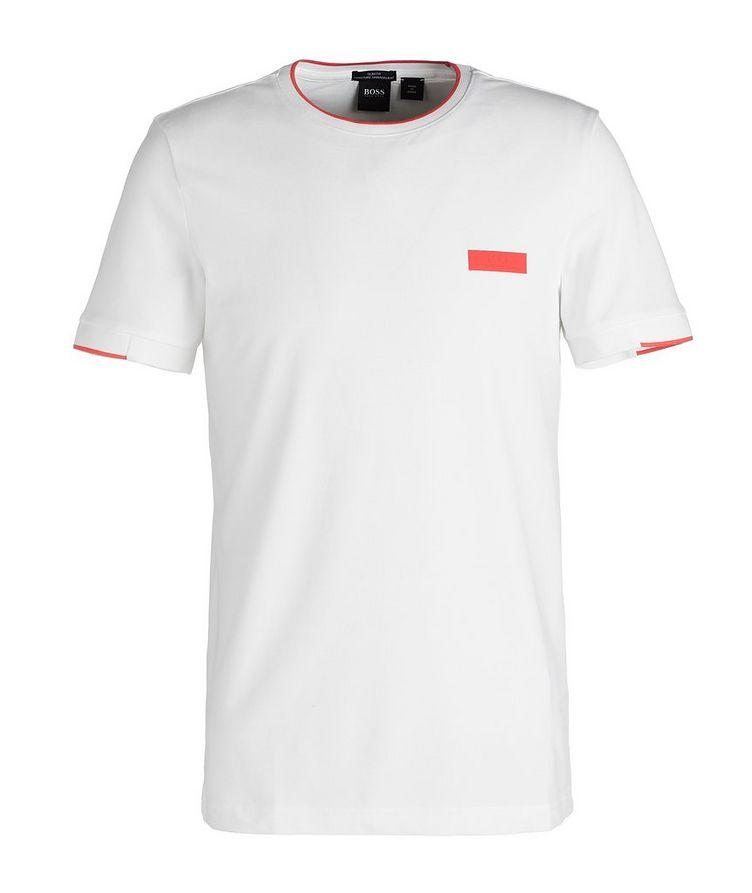 T-shirt en mélange de coton image 0