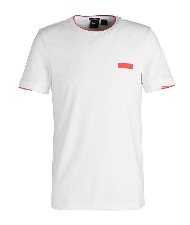 T-shirt en mélange de coton picture 1