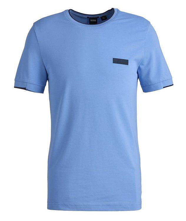 Logo Cotton-Blend T-Shirt picture 1