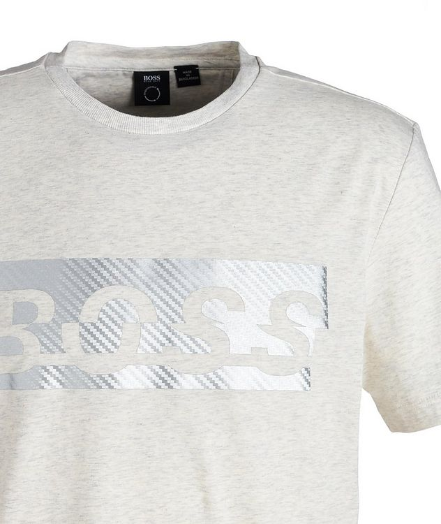 Logoed Cotton-Blend T-Shirt picture 2