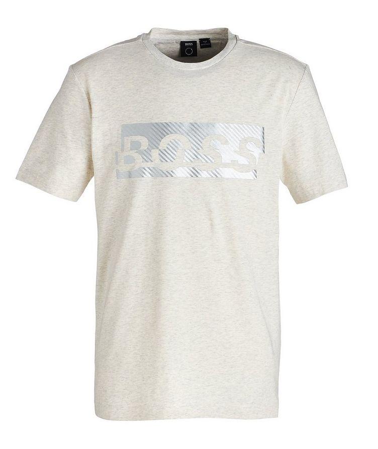 Logoed Cotton-Blend T-Shirt image 0