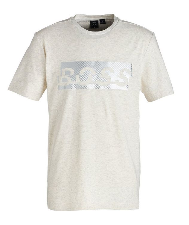 Logoed Cotton-Blend T-Shirt picture 1
