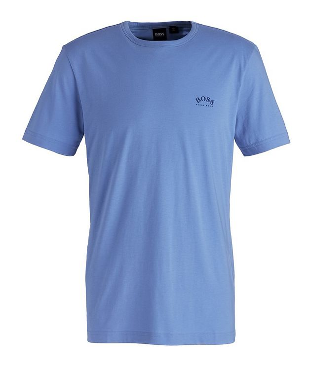 Curved Cotton T-Shirt picture 1