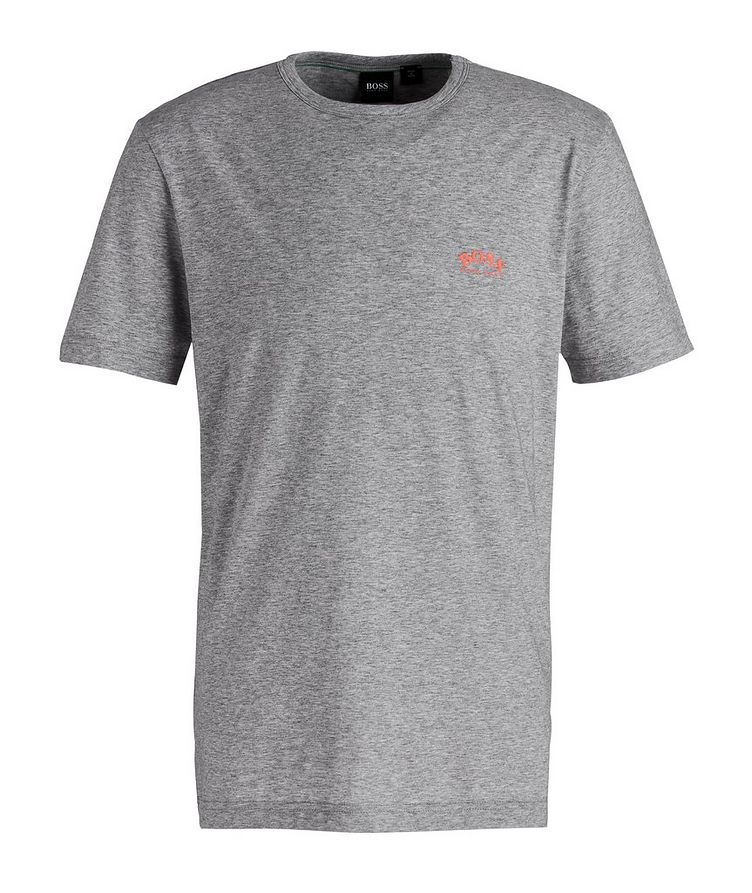 Curved Cotton T-Shirt image 0