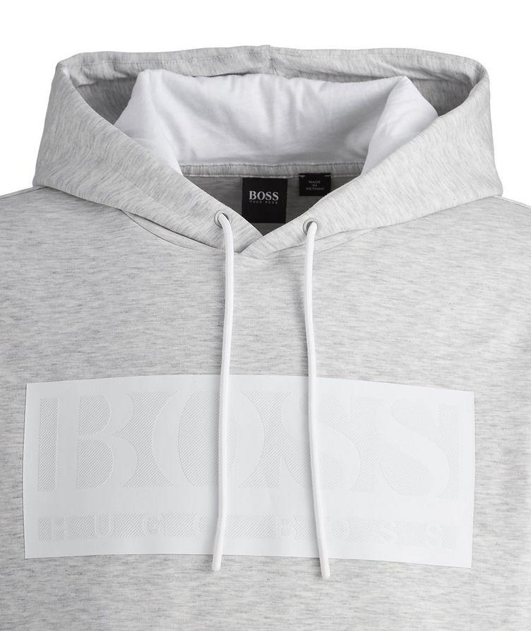 Logo Cotton-Blend Hoodie image 1