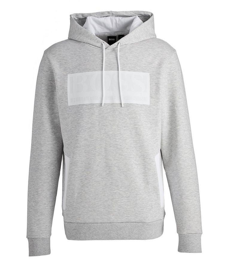 Logo Cotton-Blend Hoodie image 0