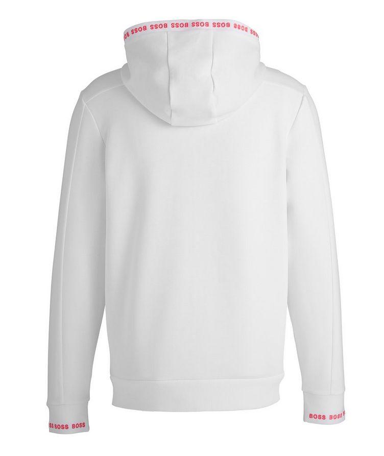 Zip-Up Cotton-Blend Hoodie image 1