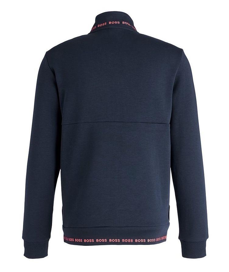Logoed Zip-Up Sweatshirt image 1