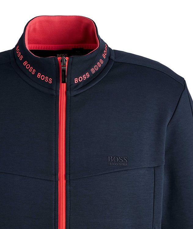Logoed Zip-Up Sweatshirt picture 3
