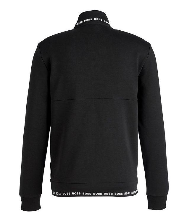 Logoed Zip-Up Sweatshirt picture 2