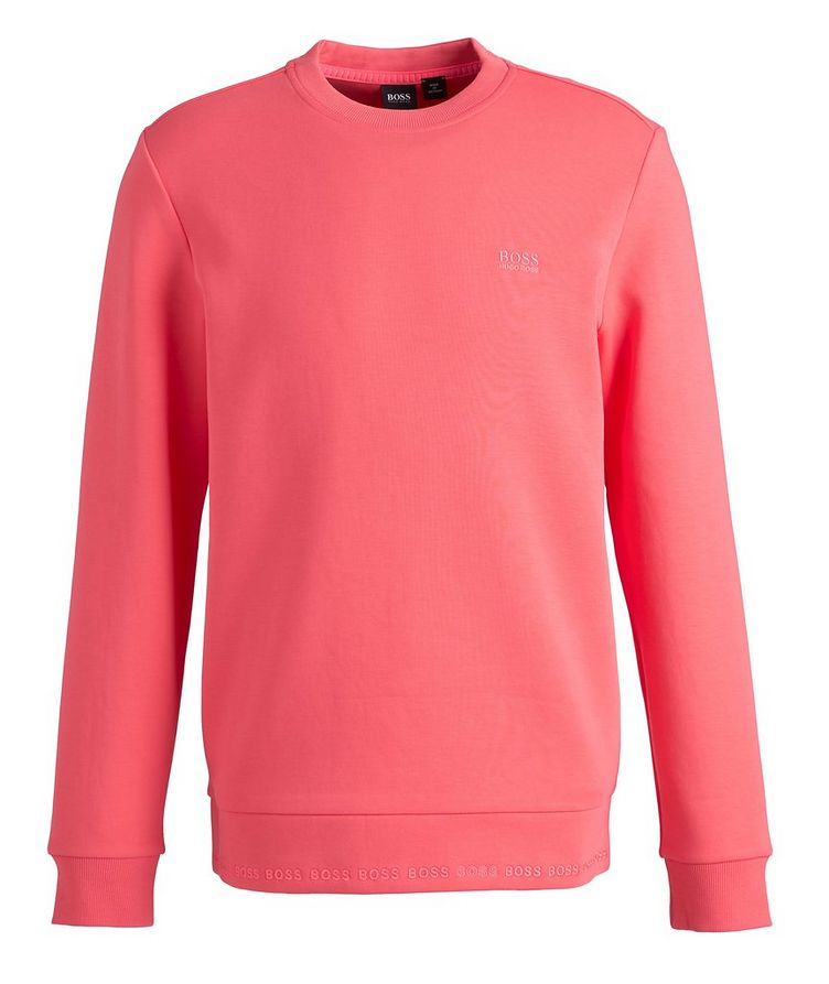 Logo Cotton-Blend Sweatshirt image 0
