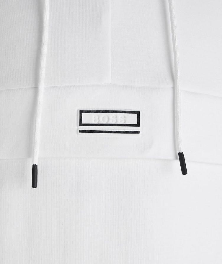 Drawstring Cotton-Blend Hoodie image 2