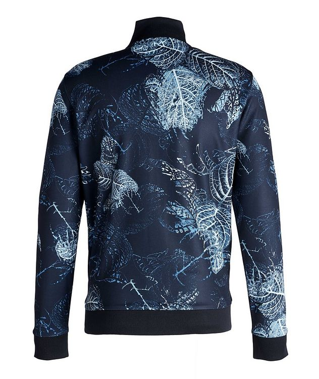 Skarley Floral Zip-Up Sweatshirt  picture 2