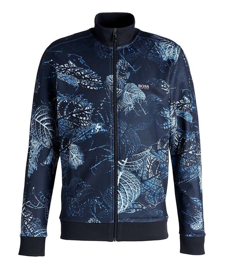 Skarley Floral Zip-Up Sweatshirt  image 0