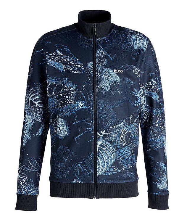 Skarley Floral Zip-Up Sweatshirt  picture 1