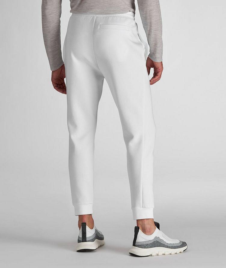 Pantalon sport en mélange de coton avec logo image 2
