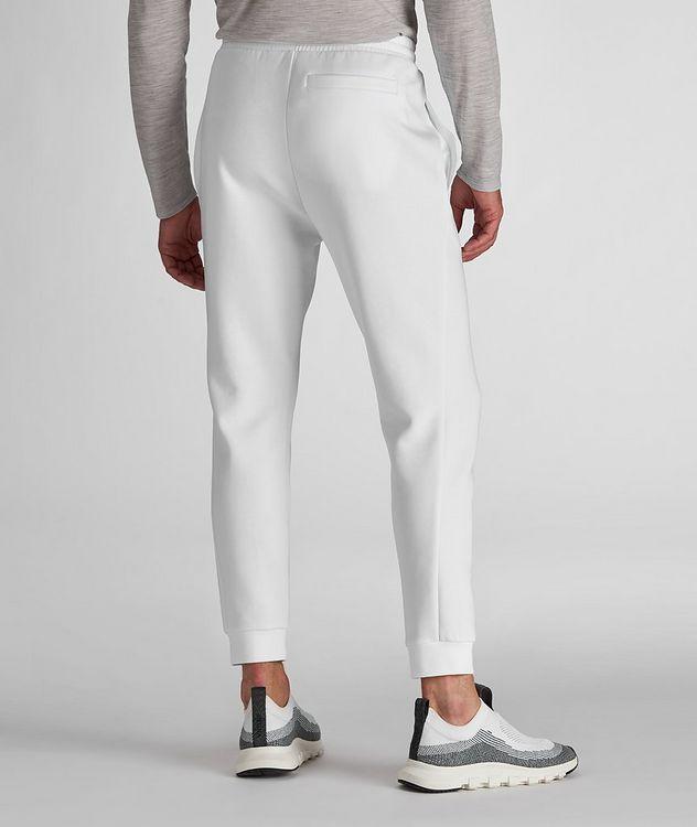 Pantalon sport en mélange de coton avec logo picture 3