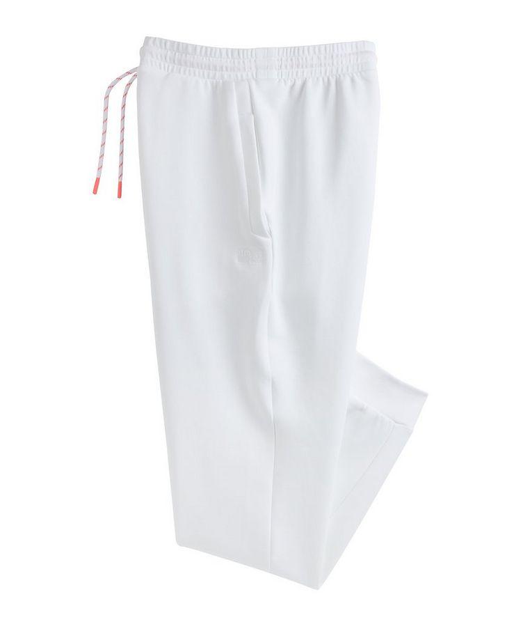 Pantalon sport en mélange de coton avec logo image 0