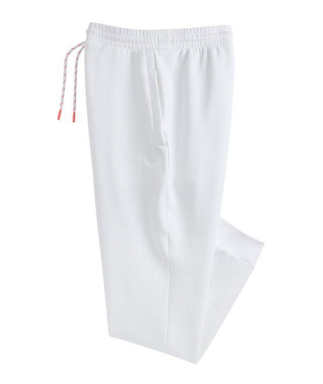 Pantalon sport en mélange de coton avec logo picture 1