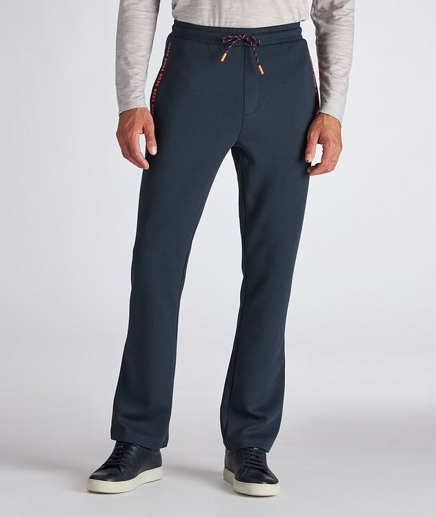 Logo Cotton-Blend Track Pants picture 2