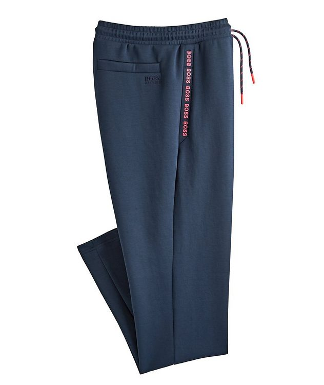 Logo Cotton-Blend Track Pants picture 1
