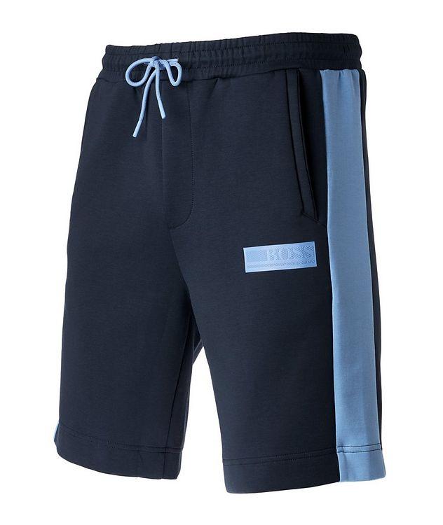 Drawstring Cotton-Blend Shorts picture 3